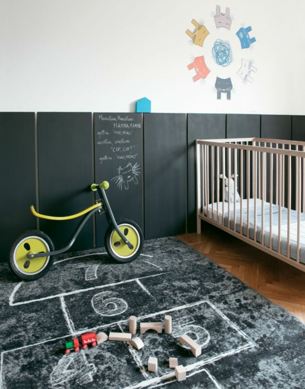 30 ideen f r kinderzimmergestaltung ergonomische. Black Bedroom Furniture Sets. Home Design Ideas