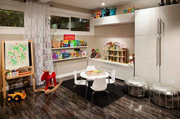 kinderzimmer gestalten untergeschoss spielzeug möbel