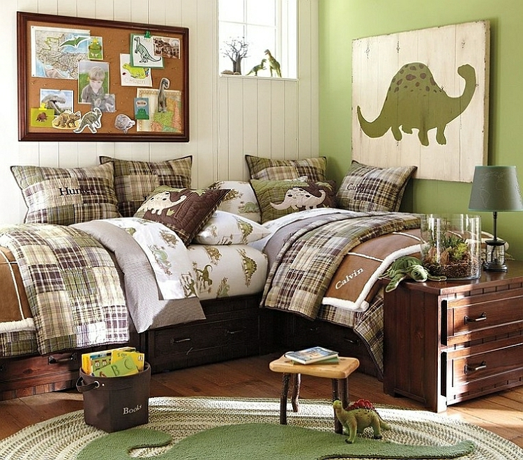 kinderzimmer wandtattoo dinosaurier abbildungen f r jungs. Black Bedroom Furniture Sets. Home Design Ideas