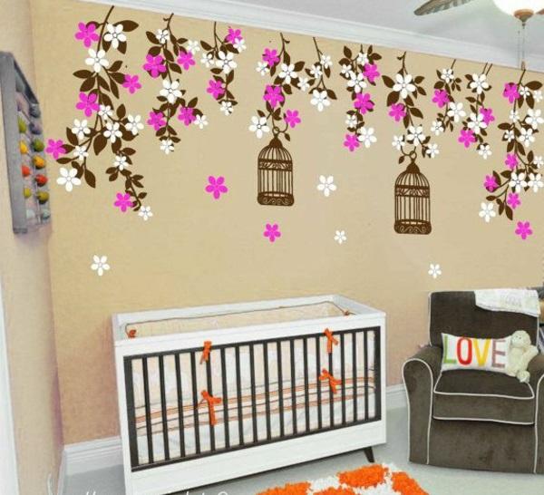 kinderzimmerw nde gestalten reisen sie durch die kinderwelt. Black Bedroom Furniture Sets. Home Design Ideas