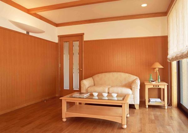 kunststoffpaneele streichen holzoptik maserung schlafzimmer gestalten