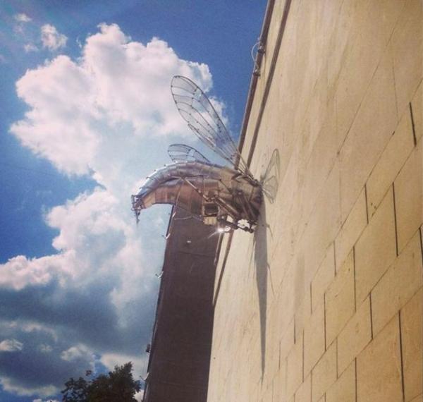 kunstwerke weltweit skulpturen die wespe