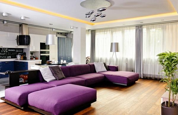 led standleuchten für ein brillantes innendesign - Moderne Leuchten Fur Wohnzimmer