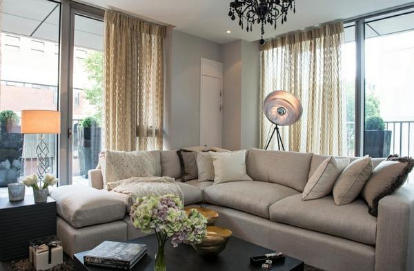 Design Wohnzimmer Beige Couch Inspirierende Bilder Von Innenarchitektur Ideen