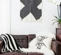 Ledersofa färben – alte Ledermöbel auffrischen und beleben