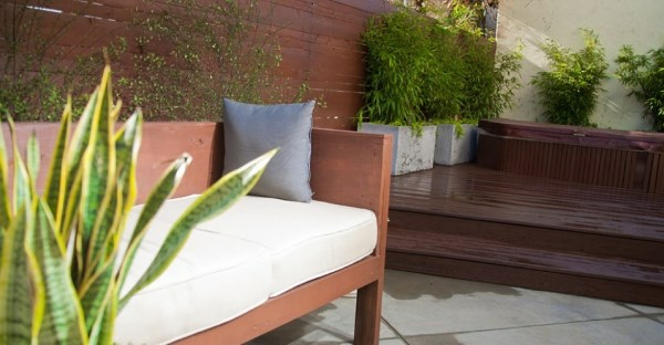 lounge garten ideen sitzbank