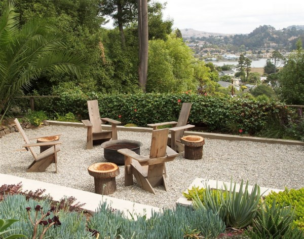 garten lounge möbel ideen sitzecke holzmöbel patio