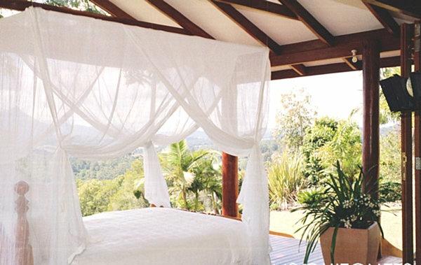lounge garten outdoor möbel tropisches himmelbett