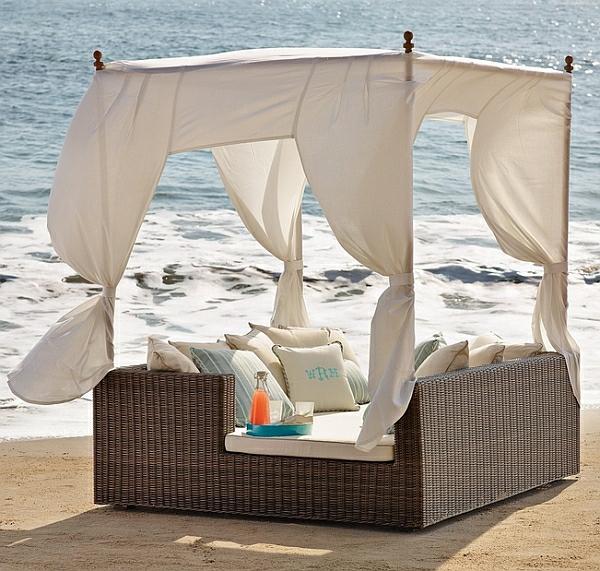 40 Ideen Für Outdoor Bett - Die Pächtige Deko Für Ihren Garten Himmelbetten Fur Draussen