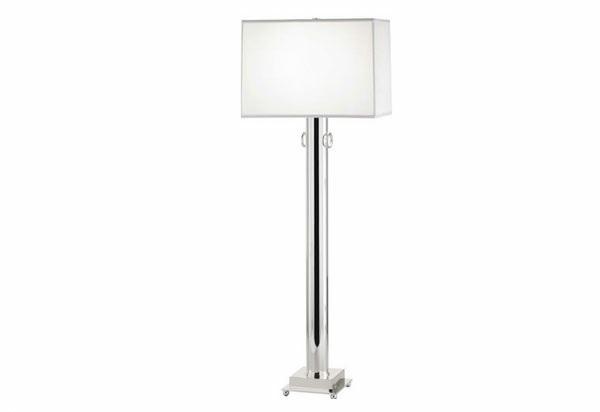 15 silberne moderne stehleuchten gl nzende designer lampen. Black Bedroom Furniture Sets. Home Design Ideas