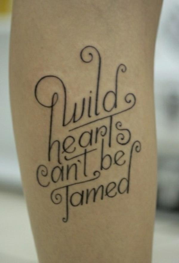ideen für unterarm tattoo frau sprüche schöne schriftarten