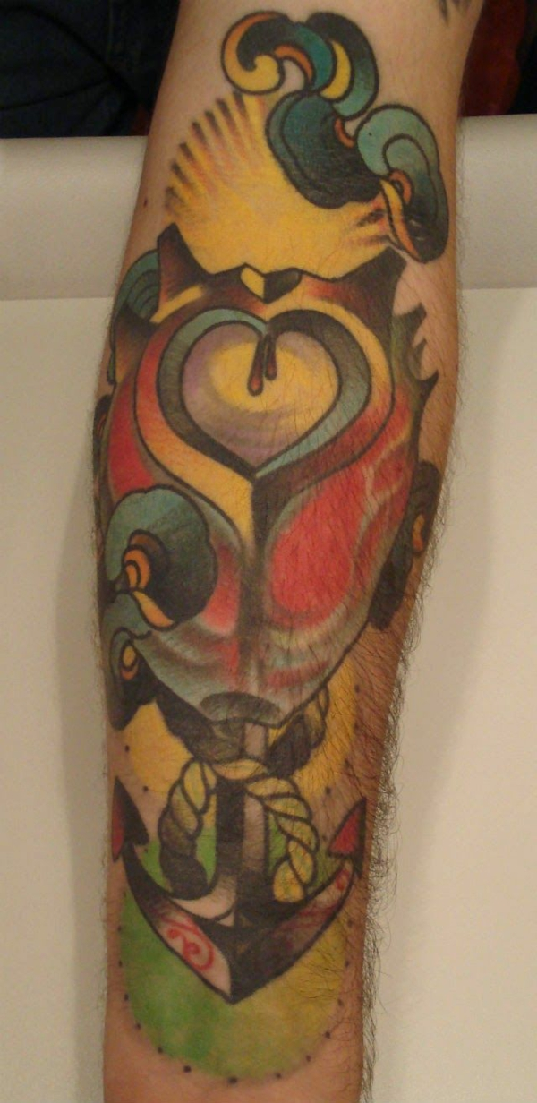 moderne ideen für tattoo unterarm motive