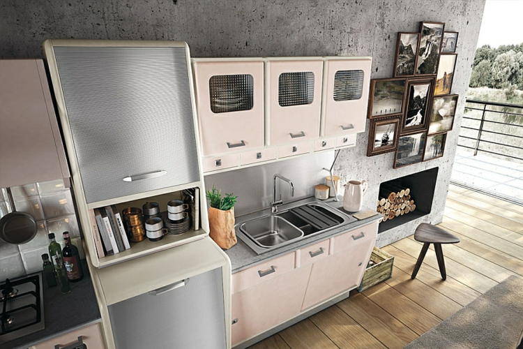 küche vintage stil ~ Logisting.com = Varie Forme di Mobili Idea e ...