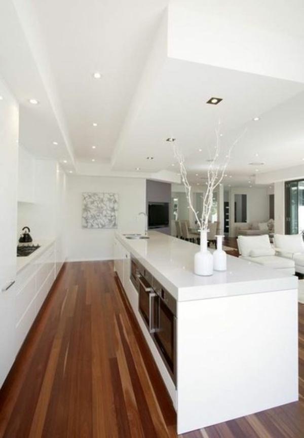 küche weiß küchenblock freistehend kücheninsel ofen eingebaut