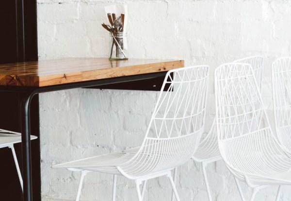 moderne wohnideen designer möbel geometrische muster