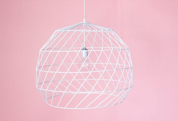 moderne wohnideen designer möbel kronleuchter geometrische muster
