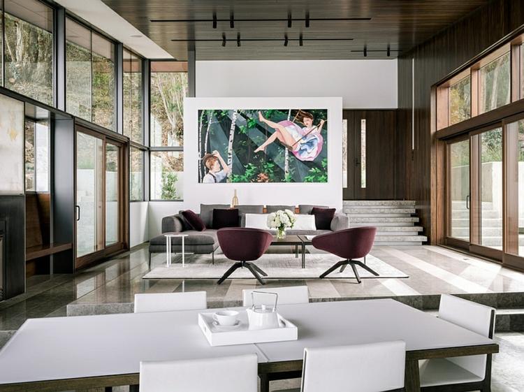 modernes-architektenhaus-moderne-inneneinrichtung-wohnbereich-designer-möbel