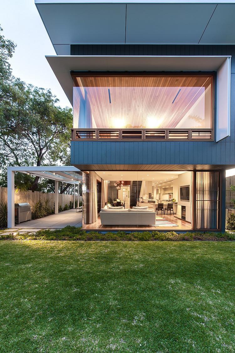 modernes haus Coogee Residenz Sydney innenbereich außenbereich gestalten