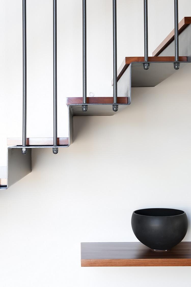 modernes haus Coogee Residenz Sydney trepengeländer wandgestaltung