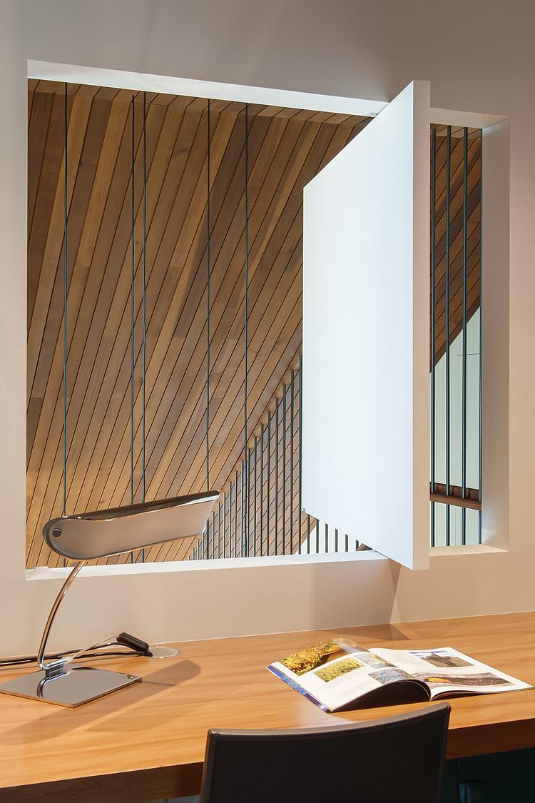 modernes haus Coogee Residenz moderne inneneinrichtung arbeitszimmer gestalten heimbüro