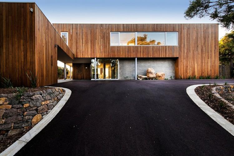 Modernes haus am strand mit aussicht auf den indischen ozean for Modernes luxushaus