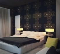 40 Individuelle Designentscheidungen – Schlafzimmerwand gestalten