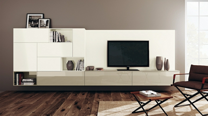 wohnzimmer einrichtungsideen im minimalistischen stil. Black Bedroom Furniture Sets. Home Design Ideas