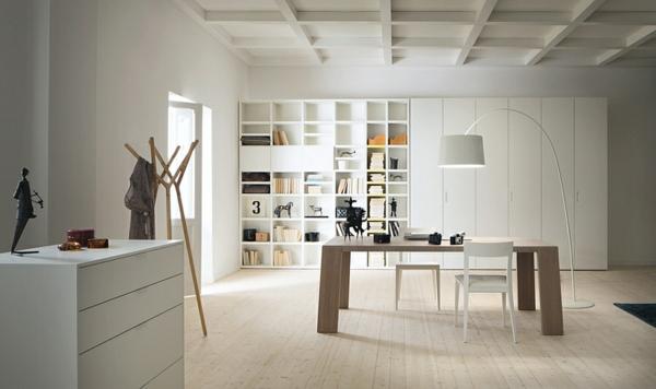 21 b cherregale im wohnzimmer f r die b cherfans - Wohnzimmer skandinavischer stil ...