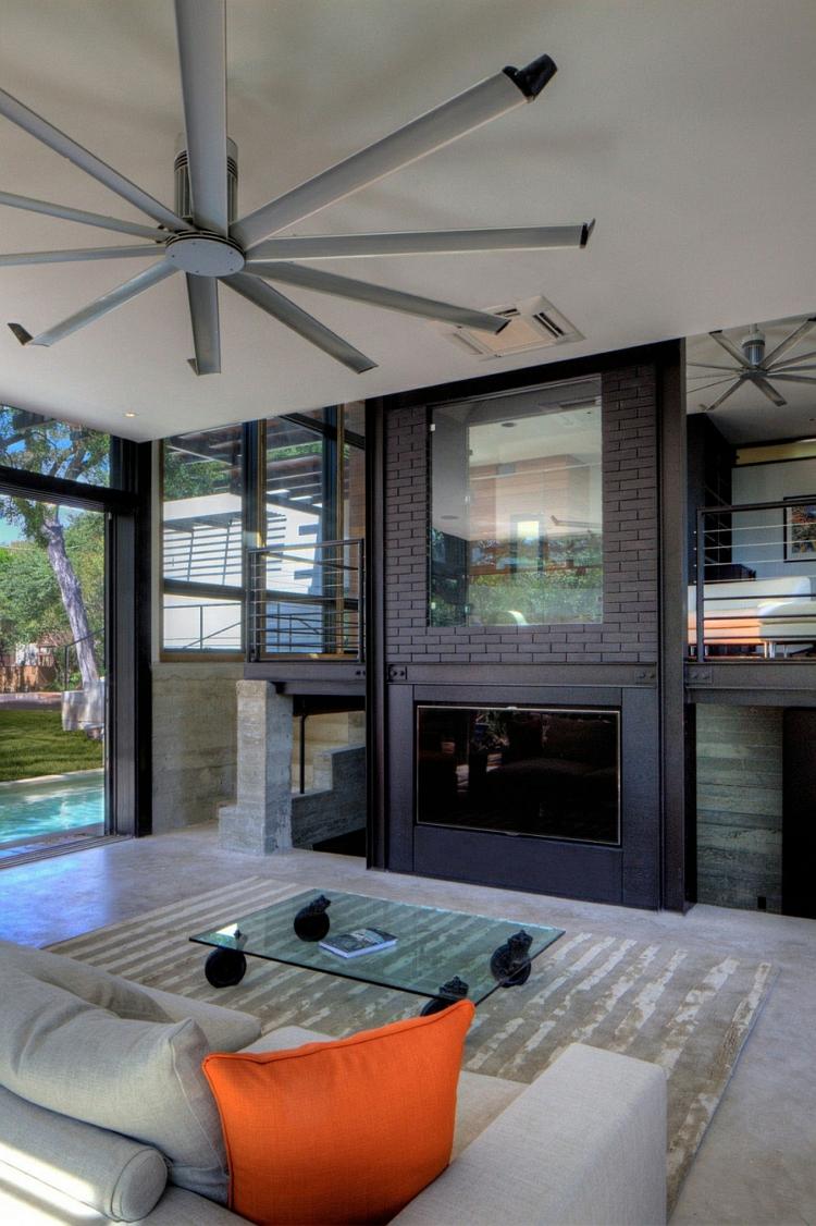 nachhaltige architektur grünes design residenz wohnbereich wohnideen