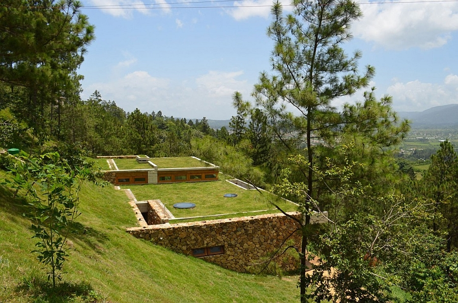 Nachhaltige Architektur Natur Wiese Rasen Dominikanische Republik