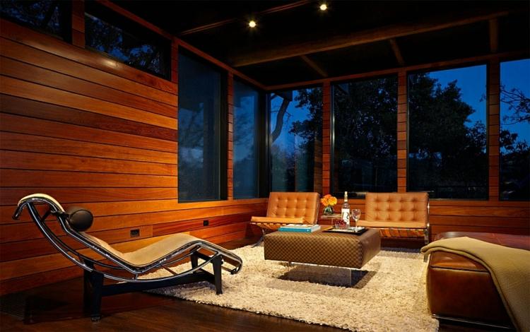 nachhaltige architektur und design wohnzimmer holzeinrichtung teppichboden