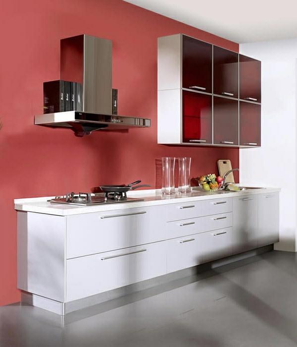 kche renovieren fronten attraktiv kuche wandfarbe ideen