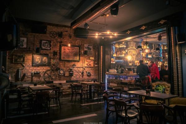 bar restaurant design joben bistro rumänien