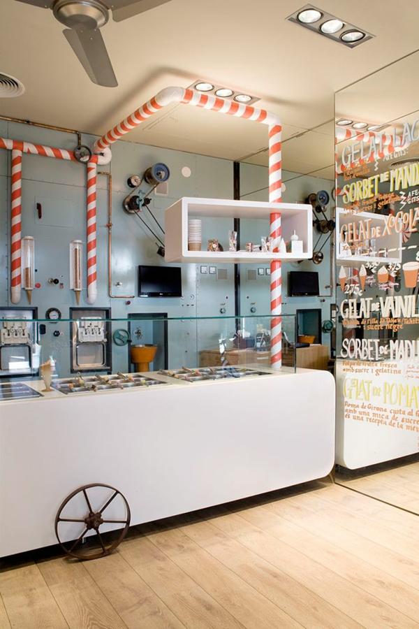 bar restaurant einrichtung rocambolesc cafe spanien