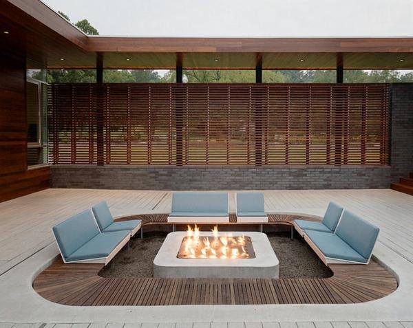 sitzecken im garten die stilvolle erscheinung ihres zuhauses. Black Bedroom Furniture Sets. Home Design Ideas