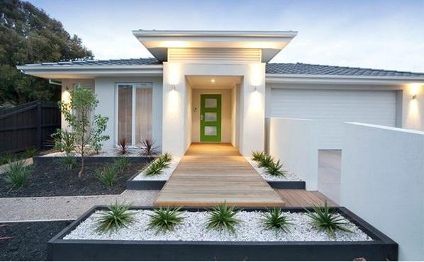 patio design ideen - vorgarten gestalten, Hause und garten