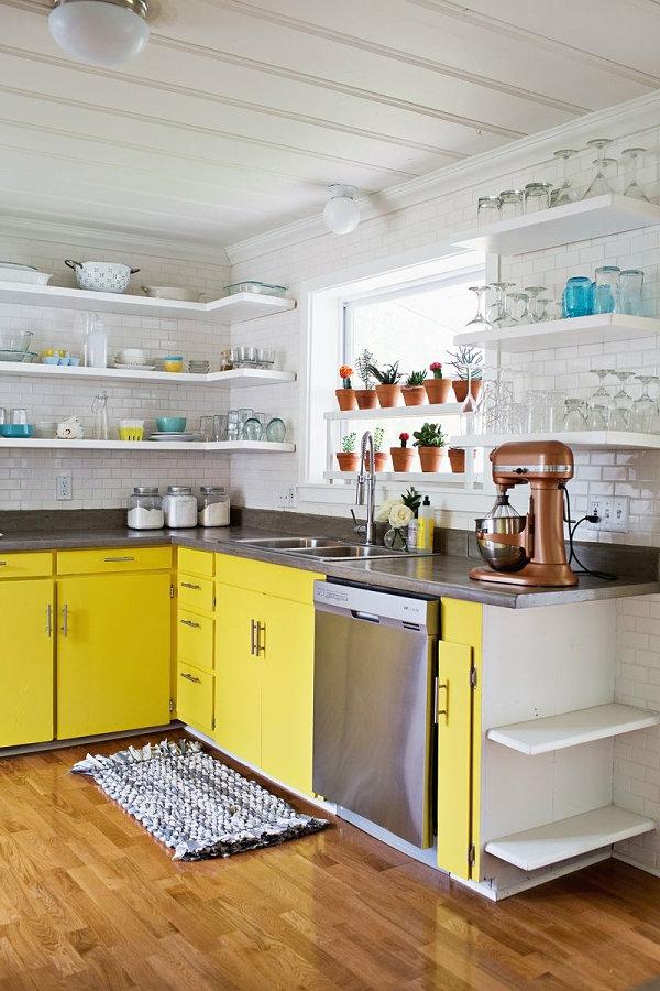 pflegeleichte Schöne Zimmerpflanzen gelb küchenblock