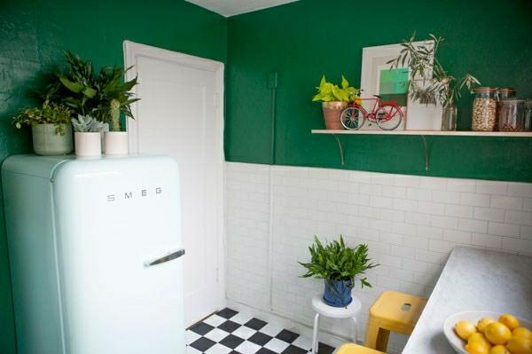 pflegeleichte Schöne Zimmerpflanzen grün wandfarbe