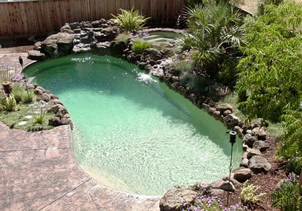 pool im garten 20 nierenf rmige schwimmbecken. Black Bedroom Furniture Sets. Home Design Ideas