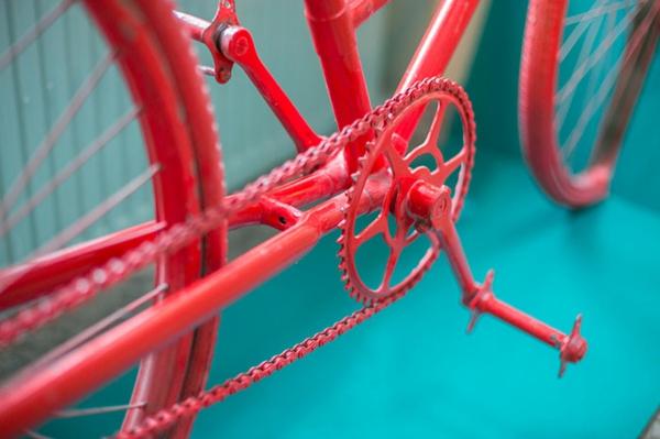 bar restaurant einrichtung dekoideen Bicycle bar rumänien