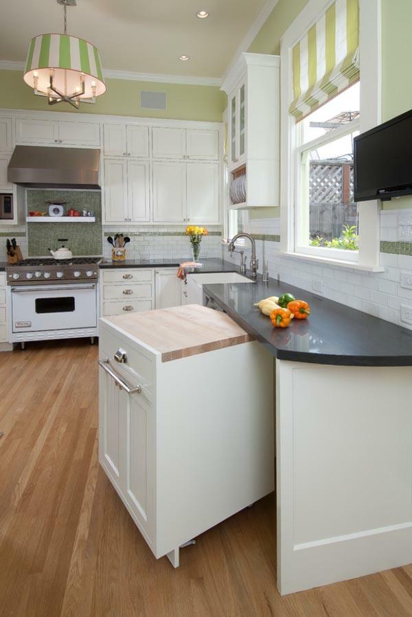 funktionelle und praktische küchenlösungen für kleine küchen, Kuchen