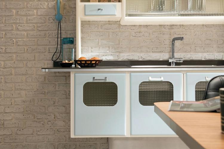 retro stil 50er jahre vintage küchendesign moderne küche gestalten