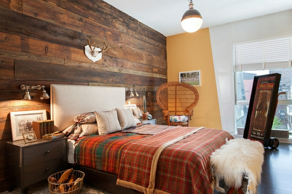 Schlafzimmer Rustikal ? Bitmoon.info Wandverkleidung Modern Schlafzimmer