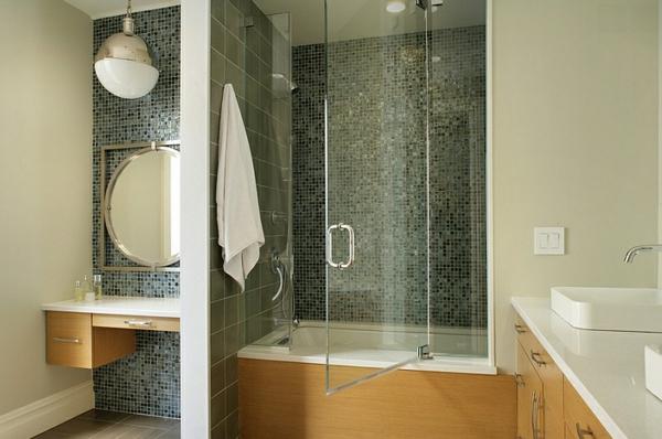 schön modern badezimmer erhellen leuchten
