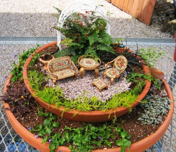 Gartenideen garten bilder gartendekorationen anordnung