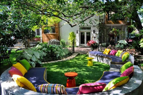 Gartenideen garten bilder gartendekorationen bunt