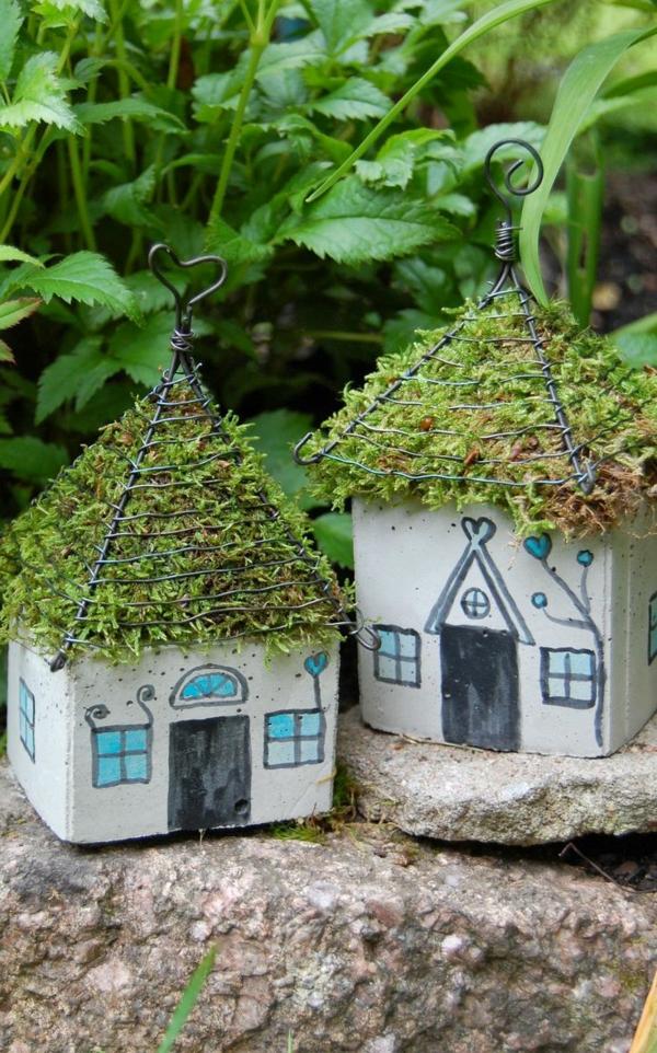 garten bilder gartendekorationen papphaus