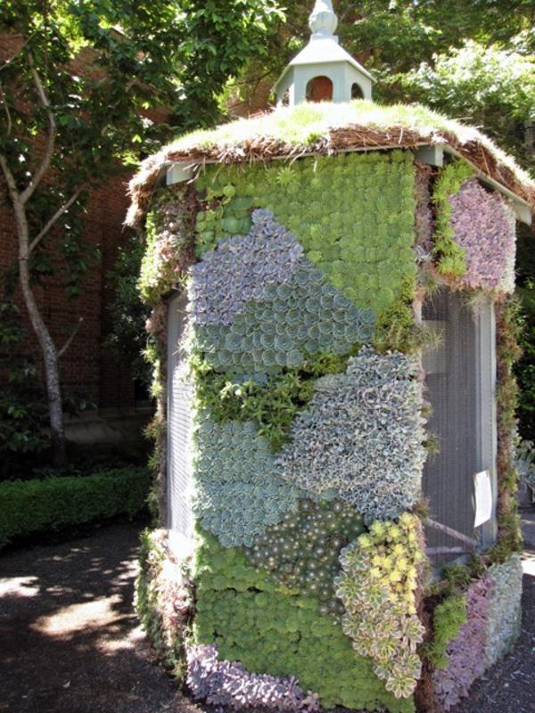 Gartenideen garten bilder gartendekorationen sukkulenten gartenhaus