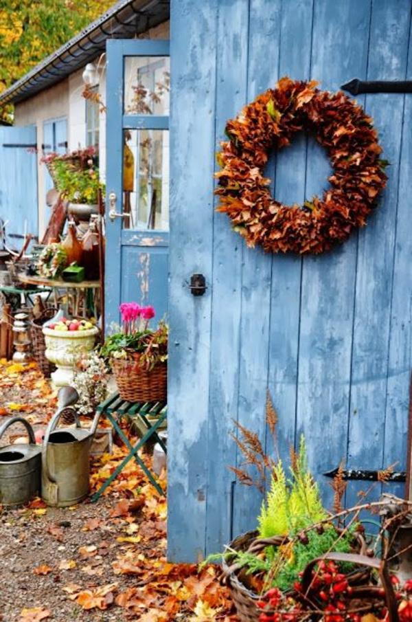 schöne Gartenideen garten bilder gartendekorationen türkranz