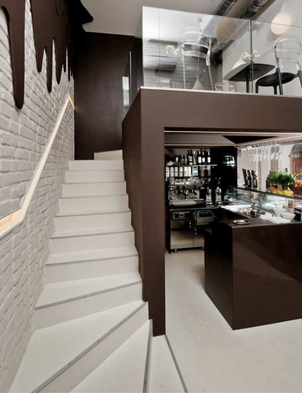 schöne bar restaurant einrichtung chocolate bar polen